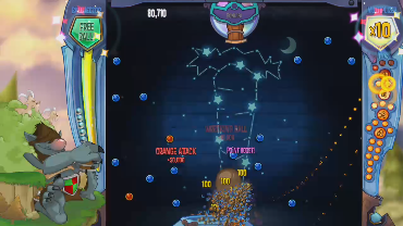 Bboy360 com playing Peggle 2