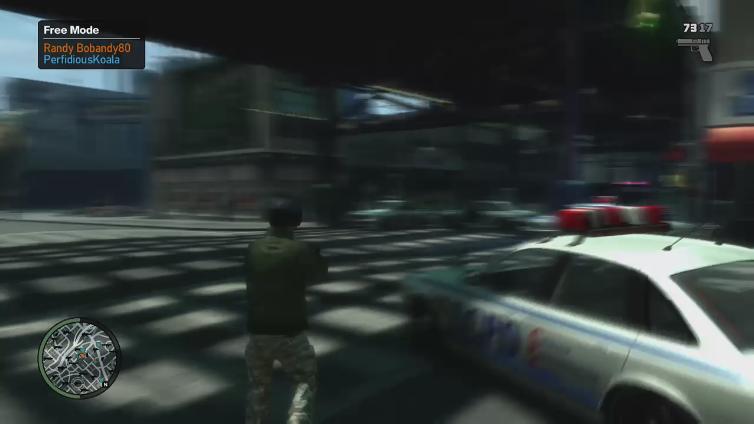 PerfidiousKoala playing Grand Theft Auto IV