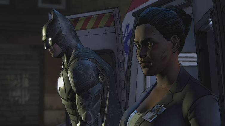 Siegurd playing Batman: The Enemy Within - The Telltale Series