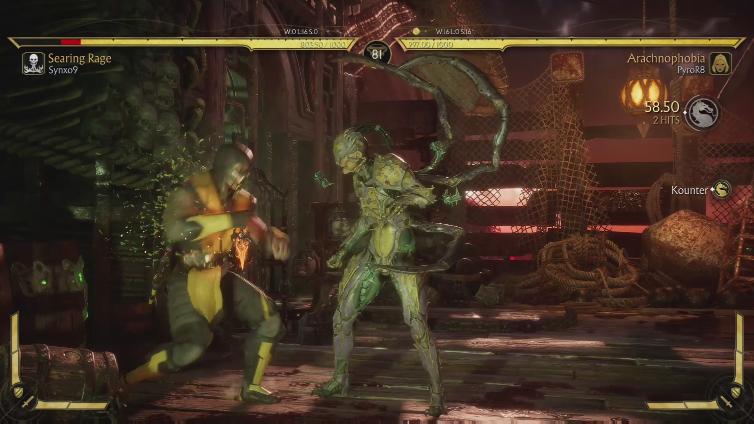 PyroR8 playing Mortal Kombat 11